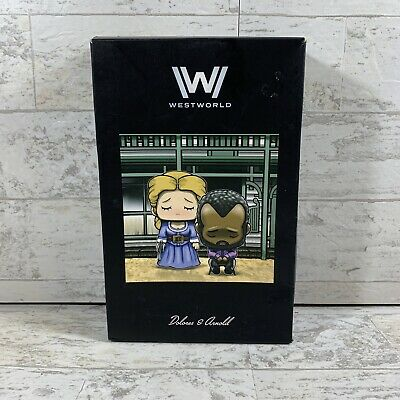 WESTWORLD Dolores - Arnold Diorama LootCrate Super Emo Friends Artist Series HBO