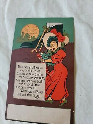 Old Lady who lived in a shoe Kinder-Garten Series; with nursery rhyme. pre-1915
