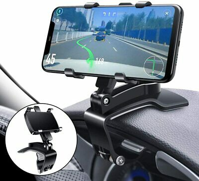 Universal 360° Car Phone Mount Holder For Cell Phone Samsung Galaxy iPhone