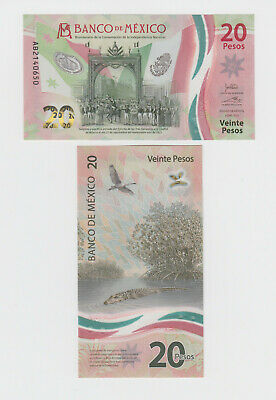 MEXICO P-NEW  20 PESOS 2021 NEW COMMEMORATIVE POLYMER  UNCIRCULATED
