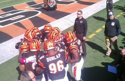 2 CINCINNATI BENGALS Los Angeles Chargers 4 Sect 102 Bengals tunnel