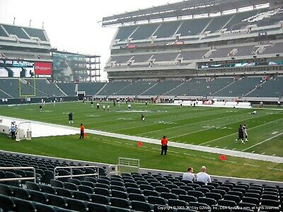 2 philadelphia eagles vs los angeles chargers tickets Lower level 124