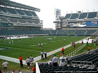 4 philadelphia eagles vs los angeles chargers tickets Lower level 114A