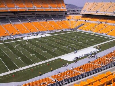 Pittsburgh Steelers vs- Tennessee Titans 2 Tickets Section 506 Row AA 121921