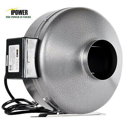 iPower Inline Duct Ventilation Fan HVAC Exhaust Blower HIGH CFM for Grow Tent