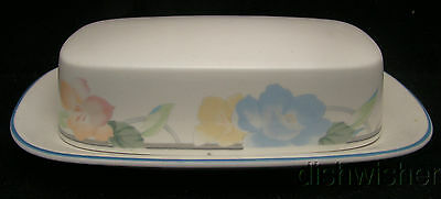 Mikasa Intaglio GARDEN POETRY CAC08 Covered Butter Dishes