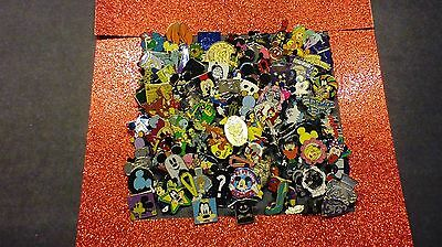 DISNEY PINS 50 DIFFERENT PINS  FAST USA SELLER CL LE HM - CAST PINS MIXED LOT