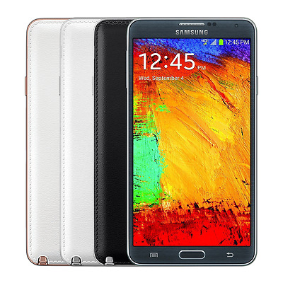 Samsung Galaxy Note 3 32GB Factory Unlocked SM-N900V - Black  White  Rose Gold
