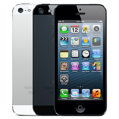 Apple iPhone 5 16GB Verizon GSM Unlocked Smartphone - Black - White