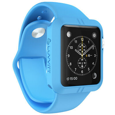 LUVVITT ULTRA ARMOR High Performance Flexible Apple Watch Case 42mm - Blue