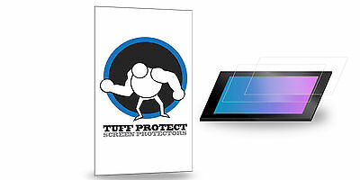 Tuff Protect Clear Screen Protectors for Pioneer AVH-X3700BHS Screen 2pcs