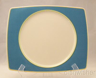 Mikasa COLOR WEAVE NAVY CX008 Dinner Plate 12 14 x 10 14