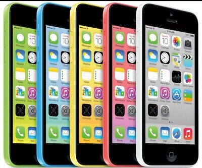 Apple iPhone 5C-8GB 16GB 32GB GSM Factory Unlocked Smartphone Cell Phone c