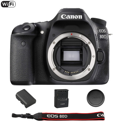 Canon EOS 80D 24-2 MP Built-In WiFi DSLR Camera Body Only - 4th of July Sale