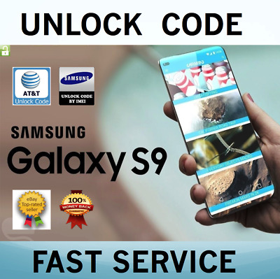 Factory Unlock Codes for Samsung AT-T USA Express Galaxy S9 S8 S7 Edge Note 8 7
