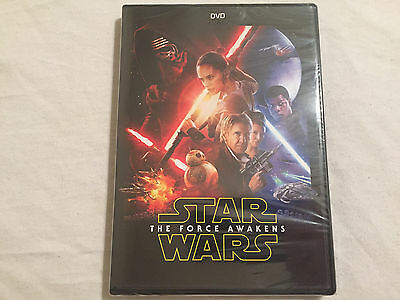Star Wars The Force Awakens DVD 2016 BRAND NEW - FREE SHIPPING TO THE US