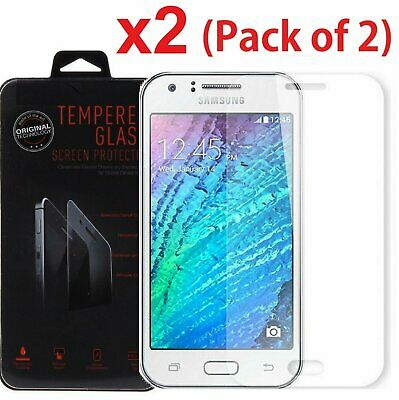 2x For Samsung Galaxy J7 2015 Version Premium Tempered Glass Screen Protector