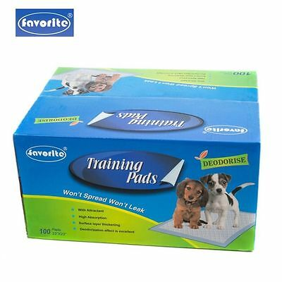 100 Packs 22 x 23 Floor Protection Dog Puppy Housebreaking Training Pads