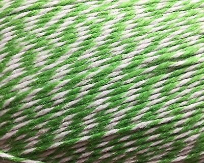 Green Bakers twine  10 Yds   Craft Twine • scrapbooking • Wedding Favors•gifts
