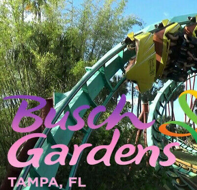 Busch Gardens Tampa Admission -Free AllDay Dine Ticket 89 A Promo Discount Tool