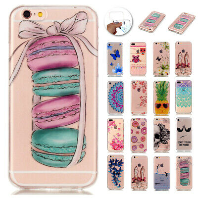 Ultra Slim Rubber Soft TPU Silicone Back Case Cover For Apple iPhone 7 66s Plus