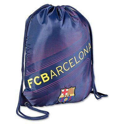 Backpack FC BARCELONA Soccer Book Cinch Bag Sack MESSI Authentic Official