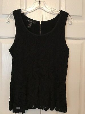 INC International Concepts Peplum Blouse • Petite Small • New Without Tags