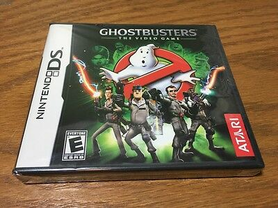 Ghostbusters The Video Game For Nintendo DS Brand New Factory Sealed Atari Rare