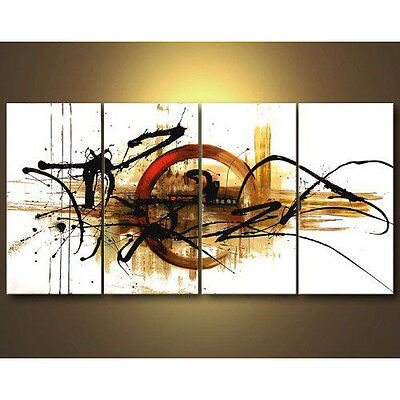 Large Original Abstract Hand Paint Oil Painting on Canvas Home Art Decor Framed