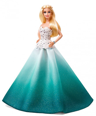 Barbie 2016 Holiday Doll New Free Shipping-