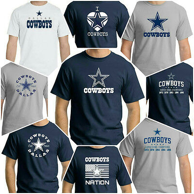 Dallas Cowboys brand new t shirt collection