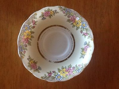 Collectable Colclough Saucer Pale Yellow Floral - Made in England