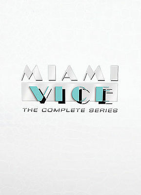 Miami Vice The Complete Series DVD 27-Disc Set Sealed