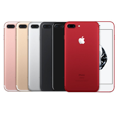 Apple iPhone 7 PLUS 128GB PRODUCT RED - All Other Colors – Brand New USA Model