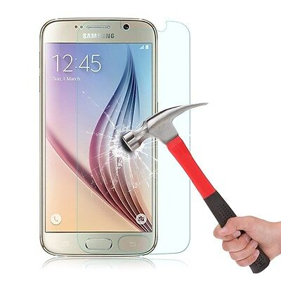 Premium Tempered Glass Screen Protector For Samsung Galaxy S7 Anti-Scratch