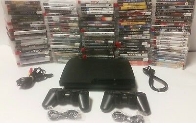 Playstation 3 Ps3 Console system 120gb with controller and games