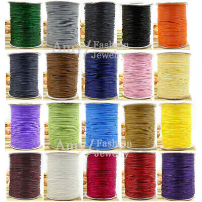 0-50-81234MM Korea Polyester Waxed Cord Jewellery Making Bead Sewing Wire