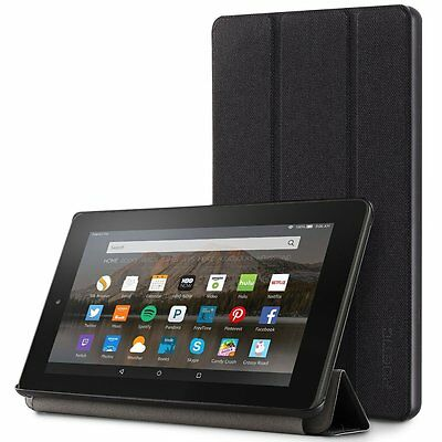 Poetic Slimline Series【Premium Fabric Slim-Fit】Case For Amazon Fire HD 8 2017
