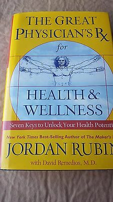 Book The Great Physicians Rx for Health and Wellness DJ170