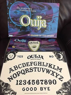 Glow-in-the-Dark Ouija Board Game – 1998 Parker Brothers EUC Complete