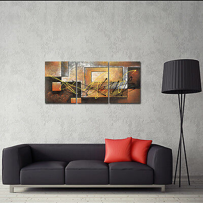 Framed Abstract Painting Reproduction on Canvas Print Poster Wall Art Home Decor