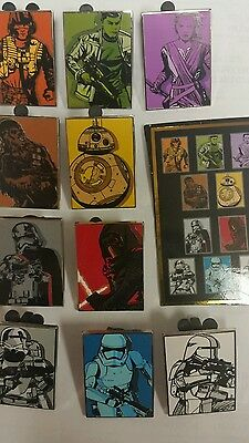 Disney  STAR WARS - THE FORCE AWAKENS  New COMPLETE Set Of 10