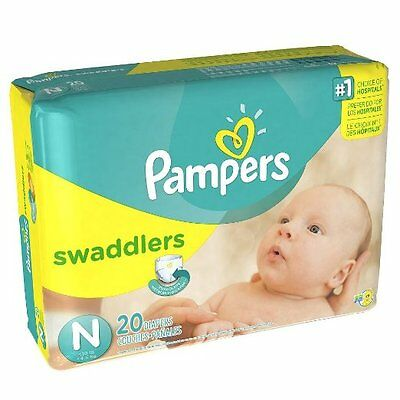 NEW Pampers Swaddlers Diapers Size NEWBORN 240 Count BULK DISCOUNT PRICING