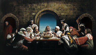 The Last Supper by Benjamin McPherson Religious  Print 32x20