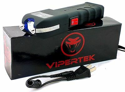 Vipertek VTS-989 Stun Gun Self Defense 180 BV Rechargeable - Holster Case
