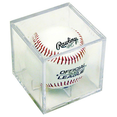 ULTRA PRO BASEBALL CUBE  baseball display case clear NEW protection holder