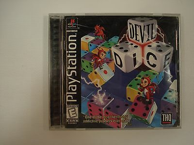 Devil Dice Sony PlayStation 1 1998 PS1