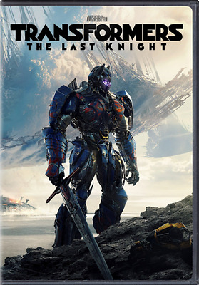 Transformers The Last Knight DVD 2017 NEWAction PRE-ORDER SHIPS ON 092617