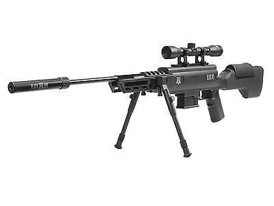 Black Ops Tactical Sniper Air Rifle Combo - -177 cal - 4x32 Scope Optic Sights