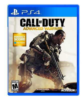 Call of Duty Advanced Warfare - PlayStation 4 Ps4 Games action Sony New